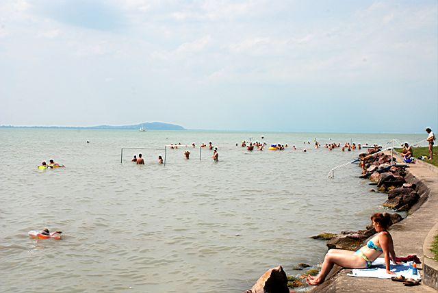 Cs 225 Sztai Beach R 233 Vf 252 L 246 P Balaton Lake Hungary